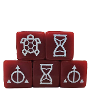 Ashes Time Dice 5-Pack