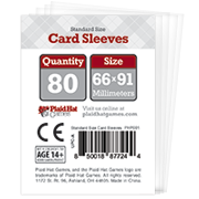 Standard Size Card Sleeves