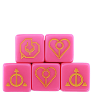 Ashes Charm Dice 5-Pack