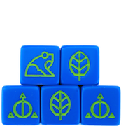 Ashes Natural Dice 5-Pack