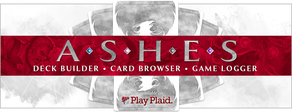 Ashes Deckbuilder!