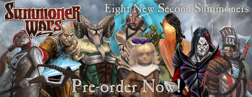 Second Summoner pre-order!
