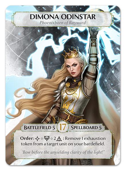 Dimona Odinstar, Phoenixborn of Rayward