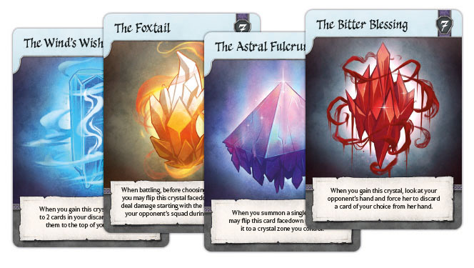 crystal cards