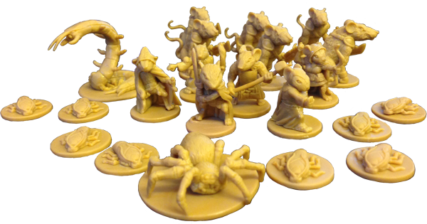 figurines de mice and mystics