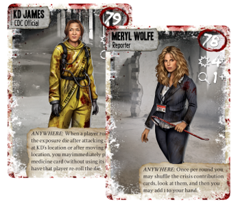 dead of winter characters