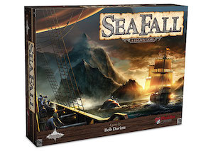 SeaFall game setup and components