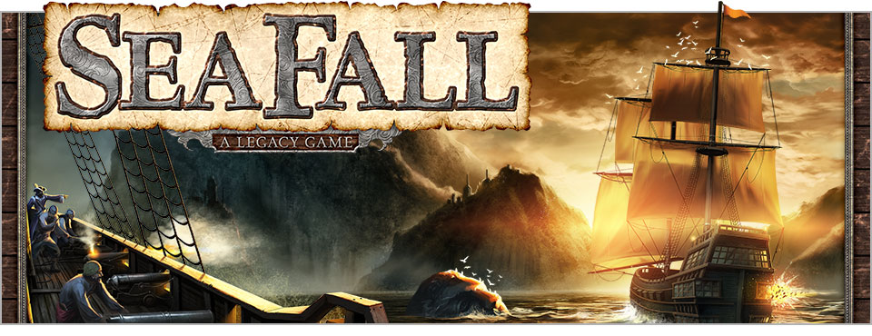 SeaFall | Games | Plaid Hat Games
