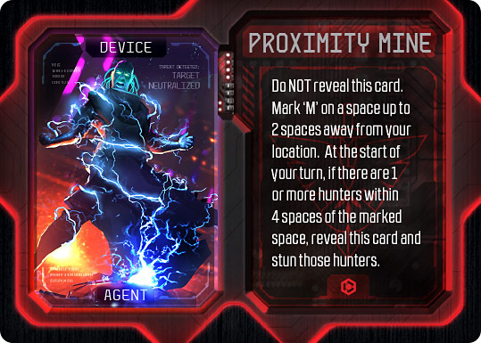 Specter Ops Proximity Mine Promo Card