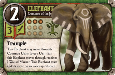 Elephant, Common of the Jungle Elves