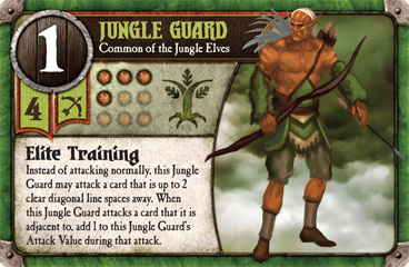 Jungle Guard, Common of the Jungle Elves
