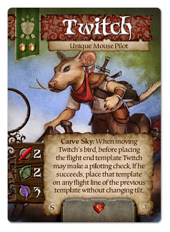 Twitch, Unique Mouse Pilot