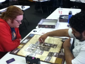 Two summoners square off at the Cleveland tournament.