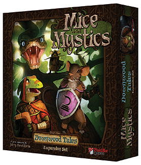 Downwood Tales: Mice and Mystics -  Plaid Hat Games