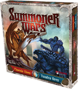 Summoner Wars: Phoenix Elves vs Tundra Orcs