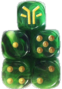 Cave Goblins Faction Dice