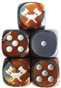 Guild Dwarves Faction Dice