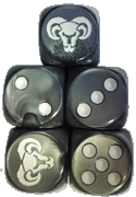 Mountain Vargath Faction Dice