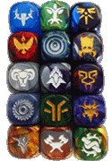 Summoner Wars Faction Dice