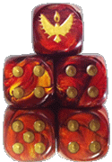 Phoenix Elves Faction Dice