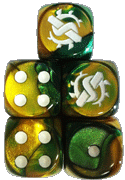 Swamp Orcs Faction Dice