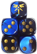 Vanguards Faction Dice