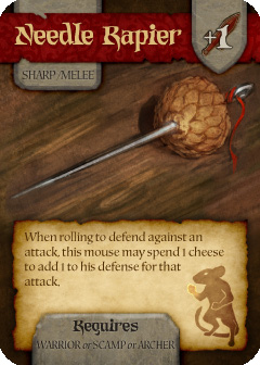 Mice and Mystics promo card
