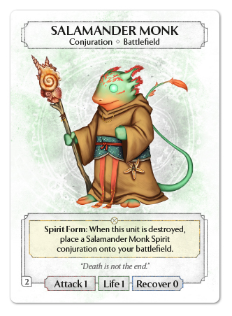Salamander Monk
