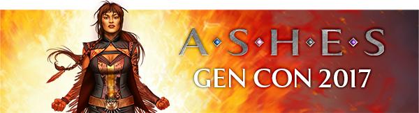 Ashes Gen Con 50 Banner