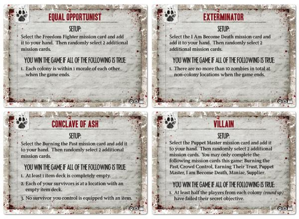 Lone Wolf Objectives