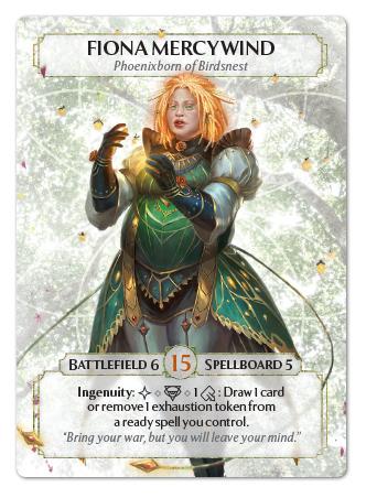 Fiona Phoenixborn Card