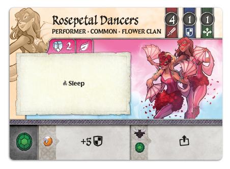 Rosepetal Dancers