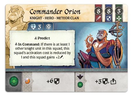 Commander Orion