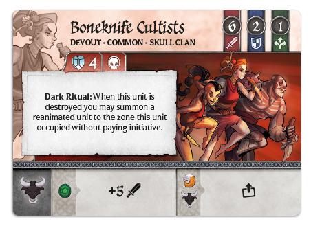 Boneknife Cultists