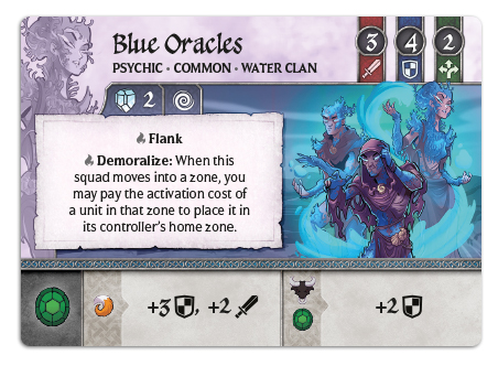 Blue Oracles