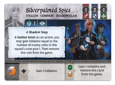 Silverpalmed Spies