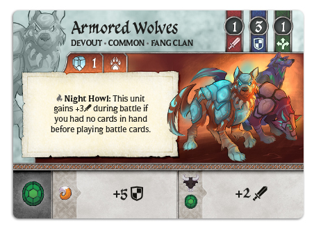 Armored Wolves