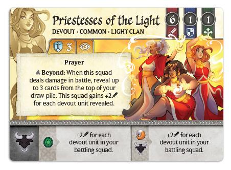 Priestesses of the Light