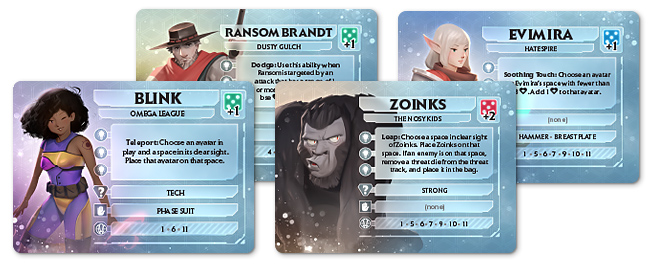 Avatar Cards