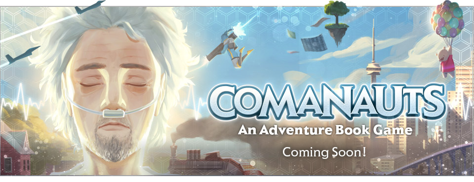 Coming Soon Banner Comanauts