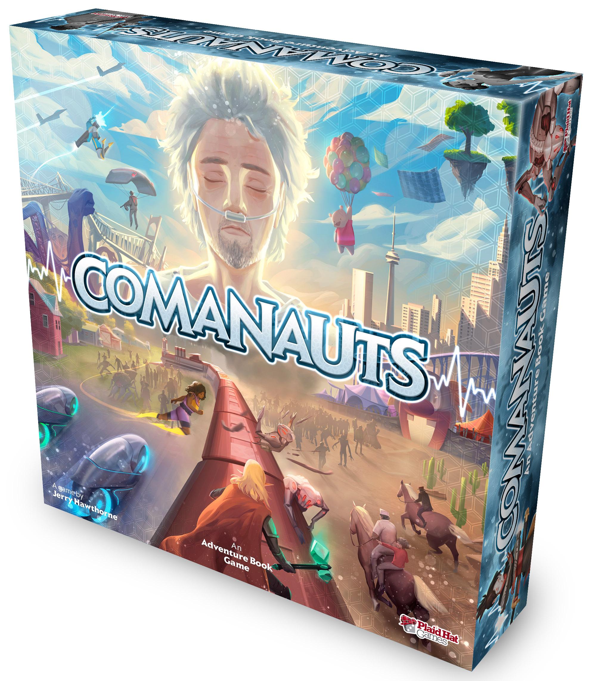 Comanauts 3D Box
