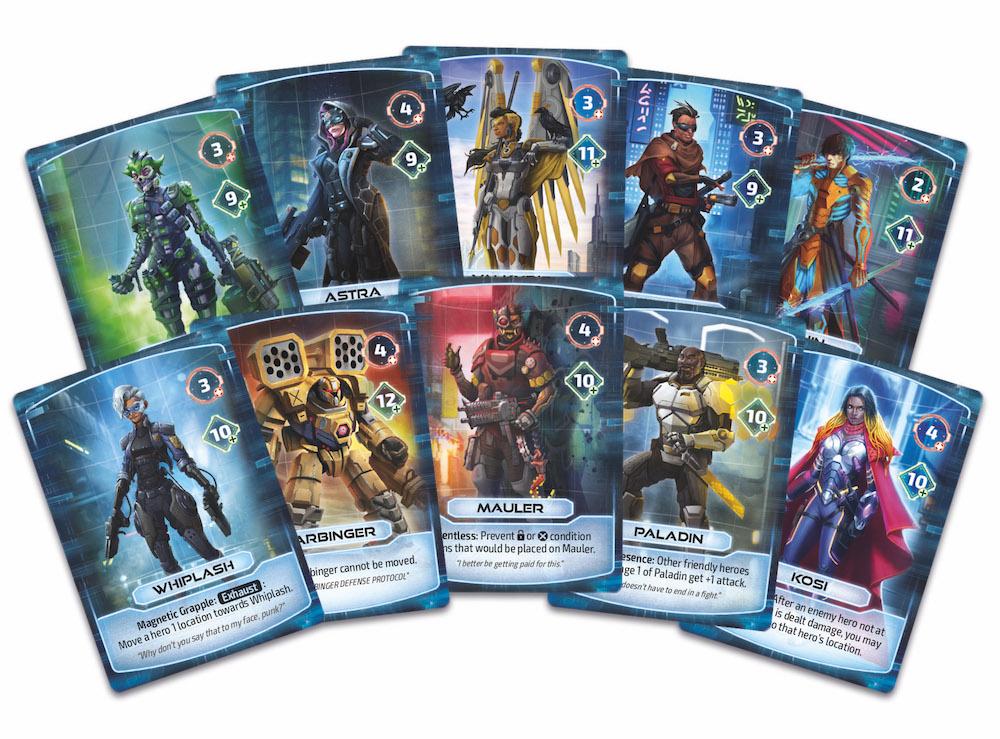Card Fan Heroes