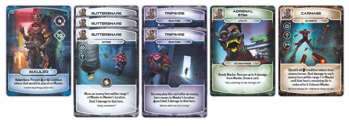 Mauler Cards
