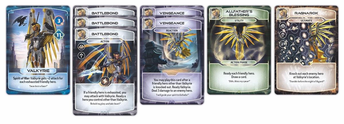 Valkyrie Cards