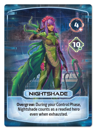 Nightshade Hero Card