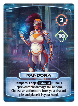 Pandora Hero Card