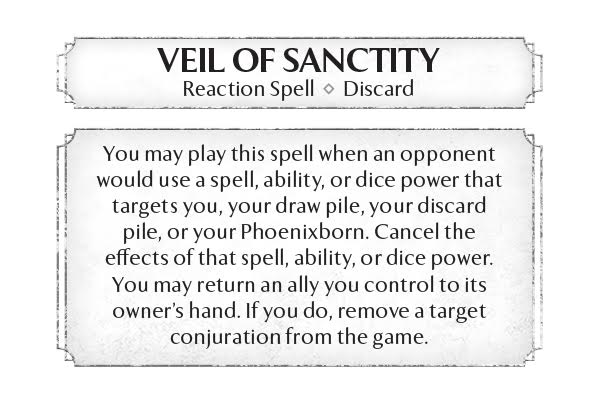 Veil of Sanctity